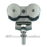 rob hangrol dubbel (150kg) voor rob 130-serie 134.120