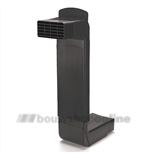 Ubbink vloerventilatie zwart 50x105 mm 0291122
