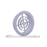 luchtrooster rond 150 mm pvc
