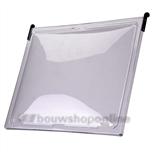 Ubbink bovenlicht helder voor ovh-6-pans 45 x41.5cm