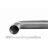 DEC flex.slang alum. 2.5m 102 mm inwendig z/gaskeur
