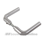 AMI deurkrukken rond duimodel >54< 369 quick aluminium F-1