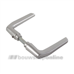 AMI deurkrukken duim model >54< 354 quick aluminium F-1