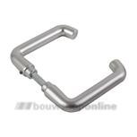 AMI DKR 356 deurkrukken 103247 rondmodel >73< quickstift aluminium F-1