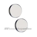 Hoppe 52 mm ronde aluminium rozetten blind 42kv ug F-1
