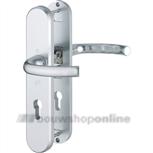 Hoppe 1710/3235/3234 veiligheids achterdeurbeslag met cilindergat 72 mm >54< kruk/kruk F-1
