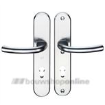 Hoppe 1710/3235/3234 veiligheids achterdeurbeslag met cilindergat 92 mm >54< kruk/kruk F-1