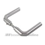 AMI deurkrukken rond duimmodel >40< 369 quick aluminium F-2