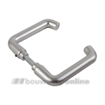 AMI deurkrukken rond duimmodel >40< 356 quick aluminium F-2