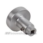 AMI knopkruk gatdeel 50 mm rond 169/50 quick aluminium F-2