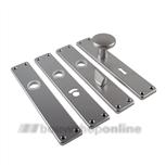 AMI langschilden aluminium F1 rechthoekig zonder sleutelgat 212/41 rh