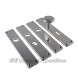 AMI langschilden aluminium F1 rechthoekig cilindergat 72 212/41 rechthoekig