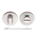 Formani LBWC50/8 toiletgarnituur dunne ronde rozet 6mm