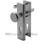 Nemef 3405 veiligheids voordeurbeslag knop/kruk PC 55 mm F-1