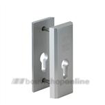 Nemef 3442 veiligheidsrozetten massief aluminium (blister)