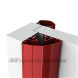 Ellen vingerbeschermingsprofielen 198 cm Finprotect+ wit