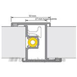 alprokon deurnaaldprofielen inbraakwerend 4119-17 2.45p-prefab 2 (deurdikte 40mm)
