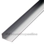 Roval F1 geanodiseerd aluminium hoekprofiel L 40x20x2 mm (2 m)