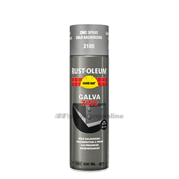 Rust Oleum Hard Hat Zink Spray 2185 8715743005893